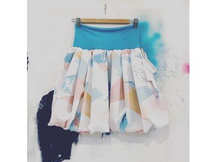 balonová sukně Birdie blue