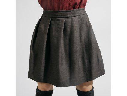 áčková sukně Mira grey