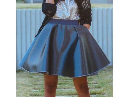 neoprenová sukně Cosmique grey