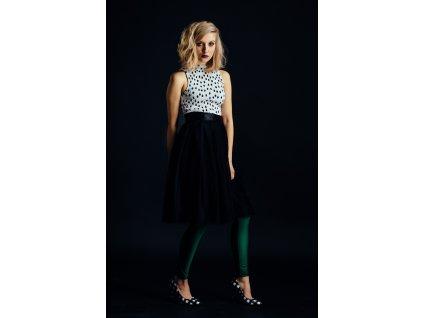 tylová sukně Černá víla