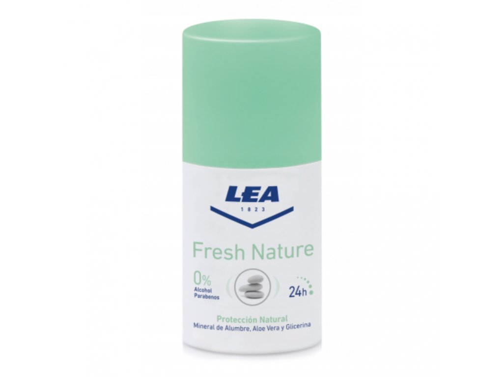 LEA Fresh Nature Alum stone kamenec roll-on-cz.nomorebeard.com