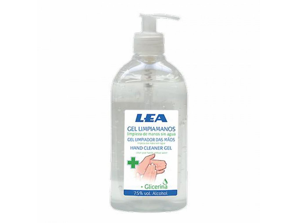 dezinfekční gel na ruce LEA