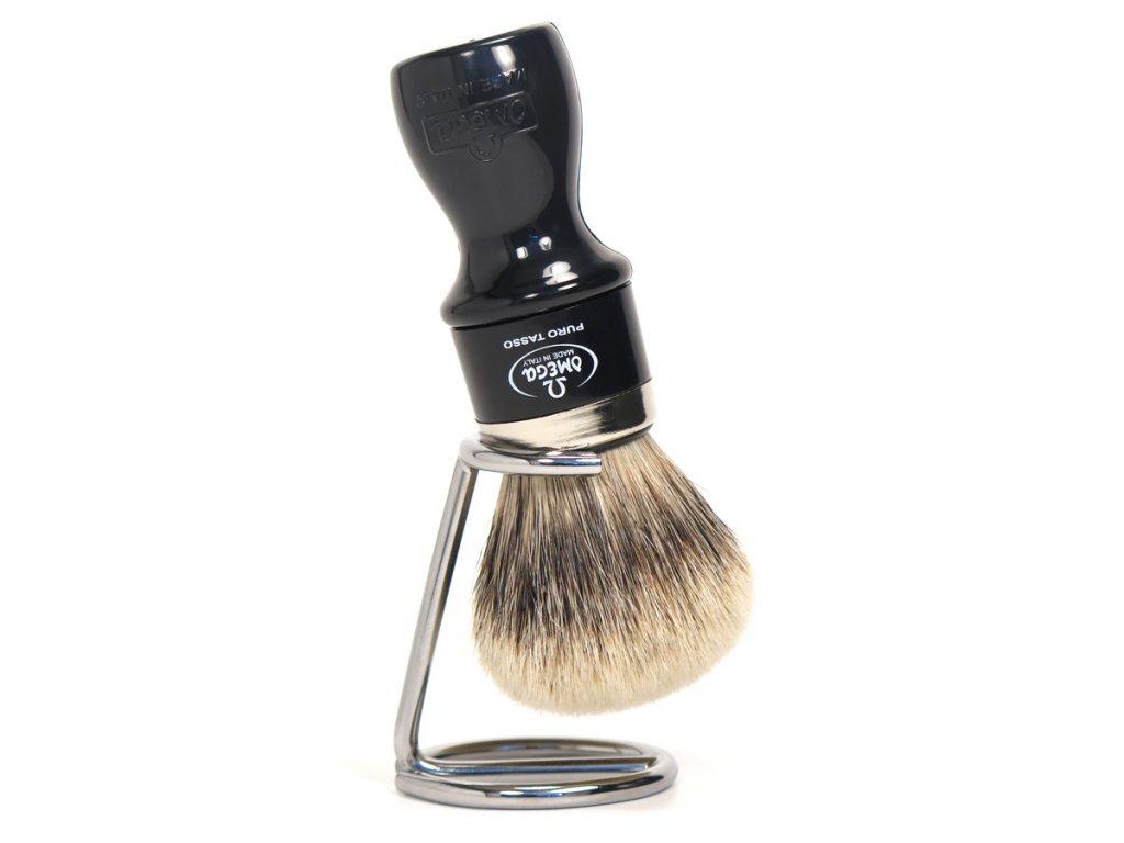 štětka na holení se stojánkem Omega 6782Y