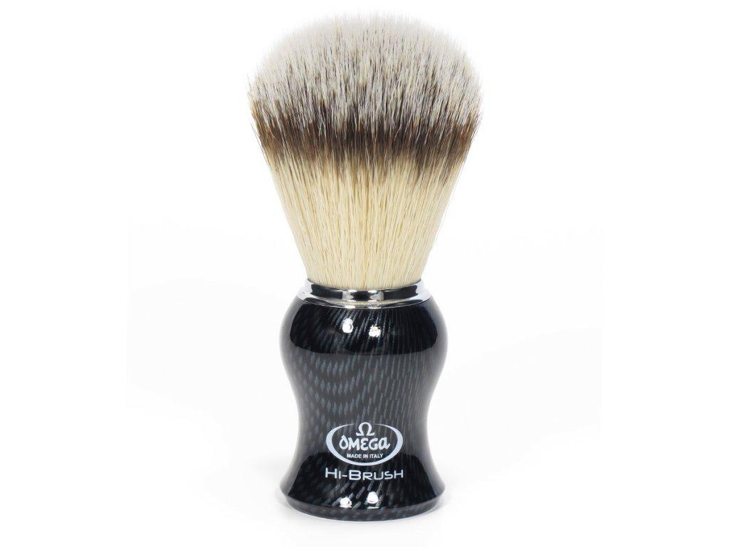 štětka na holení ze syntetických vláken Omega Hi-Brush 0146650