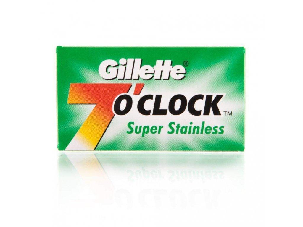 žiletky Gillette 7 o'clock Super Stainless