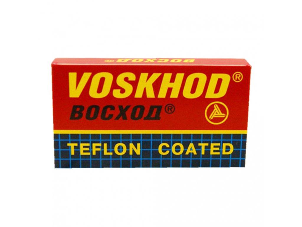 Voskhod Teflon Coated žiletky
