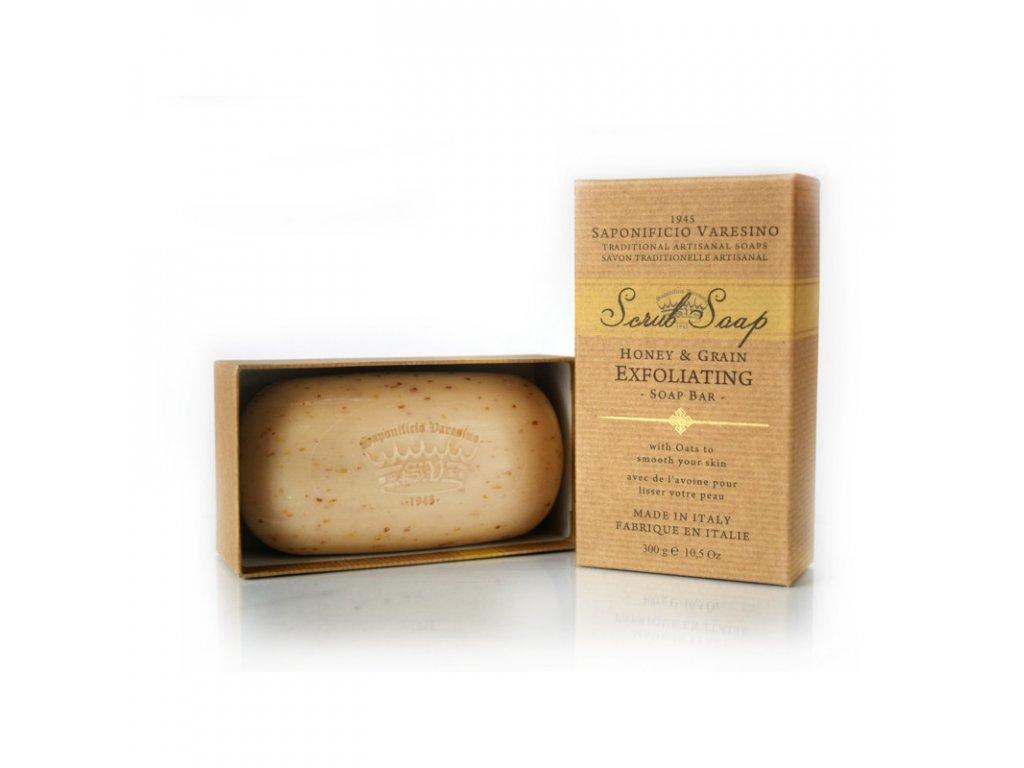 Saponificio Varesino Honey&grain scrub-cz.nomorebeard.com