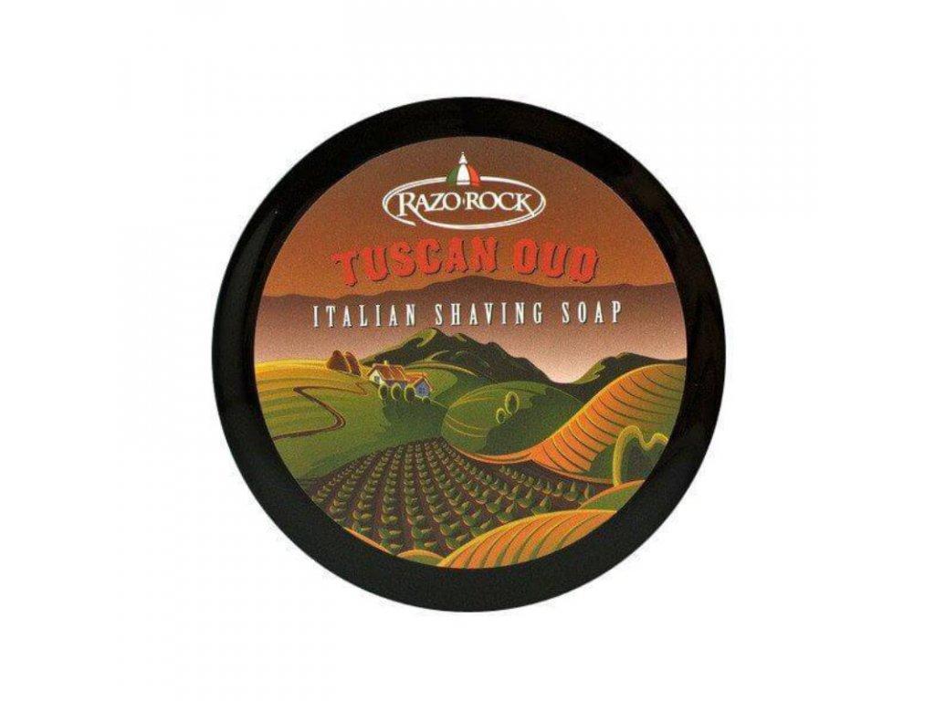 RazoRock Tuscan Oud soap-cz.nomorebeard.com
