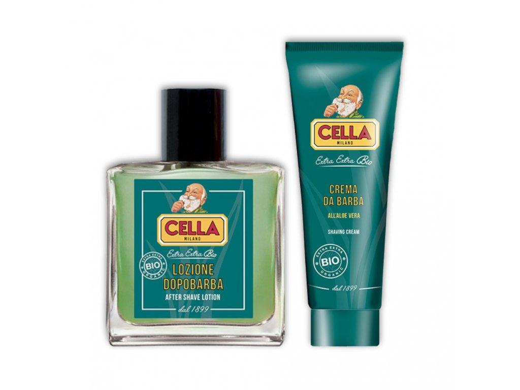 Cella Bio sada kosmetiky na holení