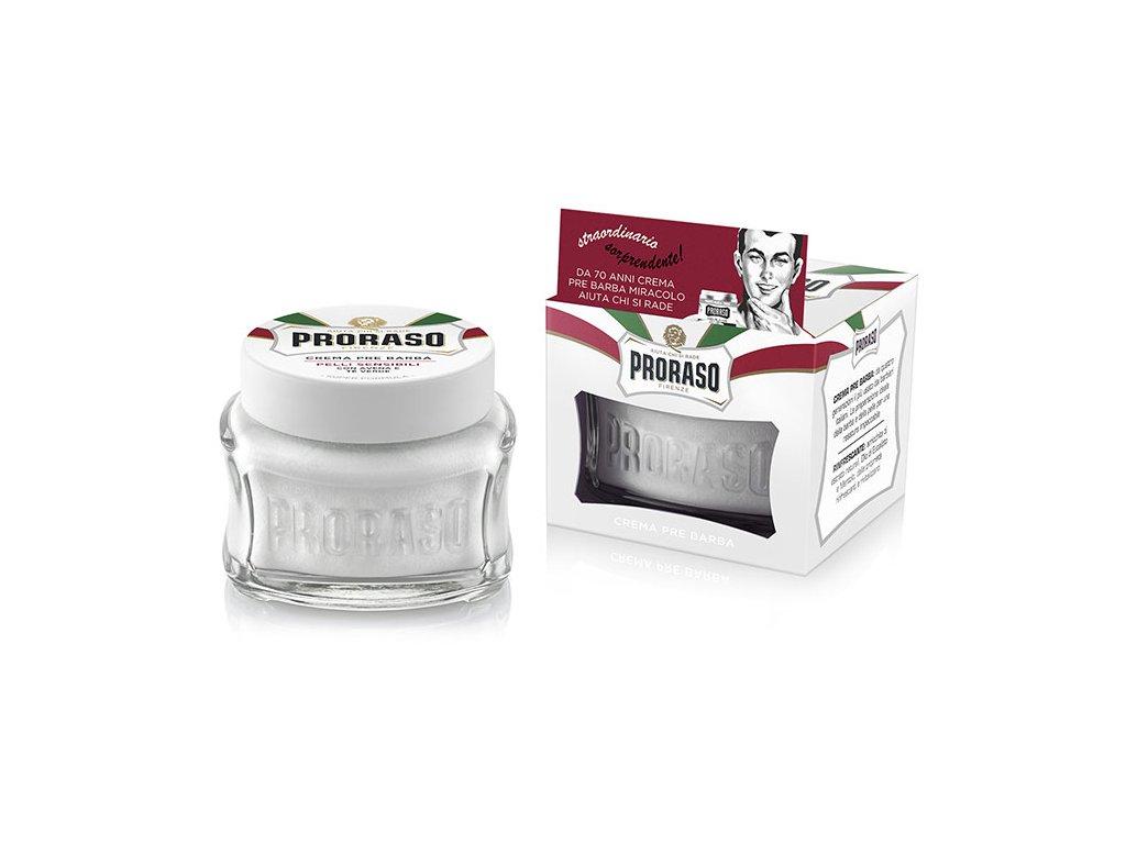 Proraso Pre-Shave Cream Sensitive - krém před i po holení
