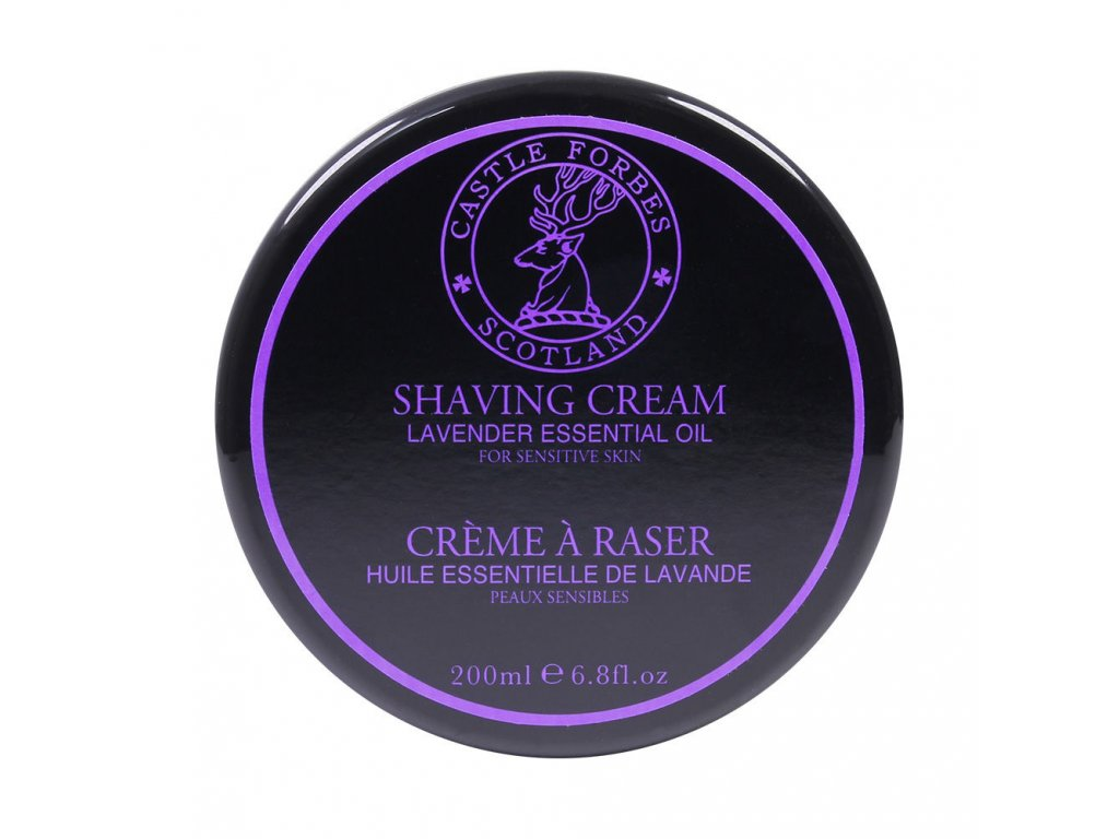 Castle Forbes Lavender Essential Oil mýdlo na holení