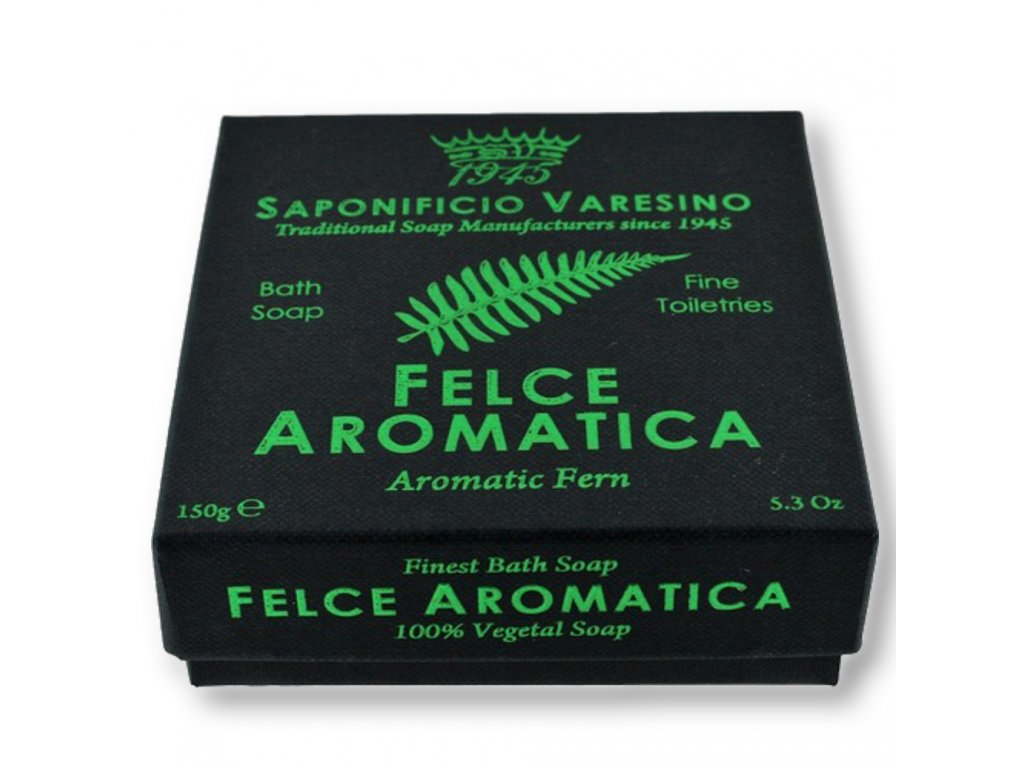 Saponificio Varesino Felce Aromatica toaletní mýdlo