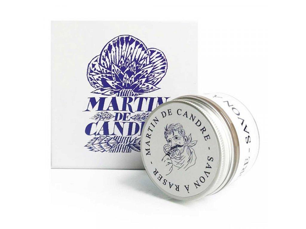 mýdlo na holení bez parfému Martin de Candre Sans Parfum