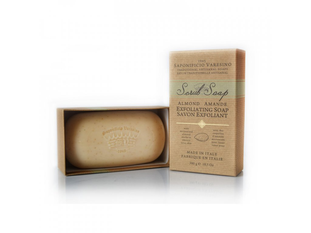 mandlové mýdlo Saponificio Varesino