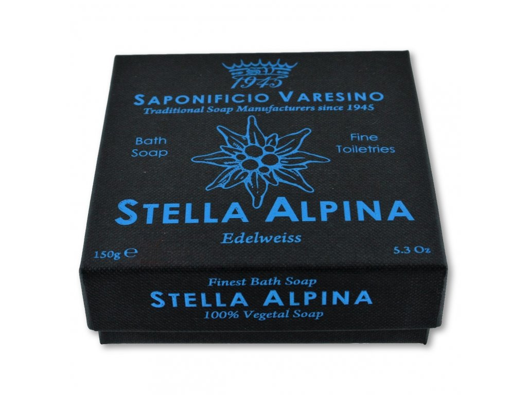 toaletní mýdlo Saponificio Varesino Stella Alpina