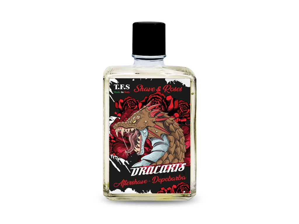 Tcheon Fung Sing Shave&Roses Aftershave - Dracaris