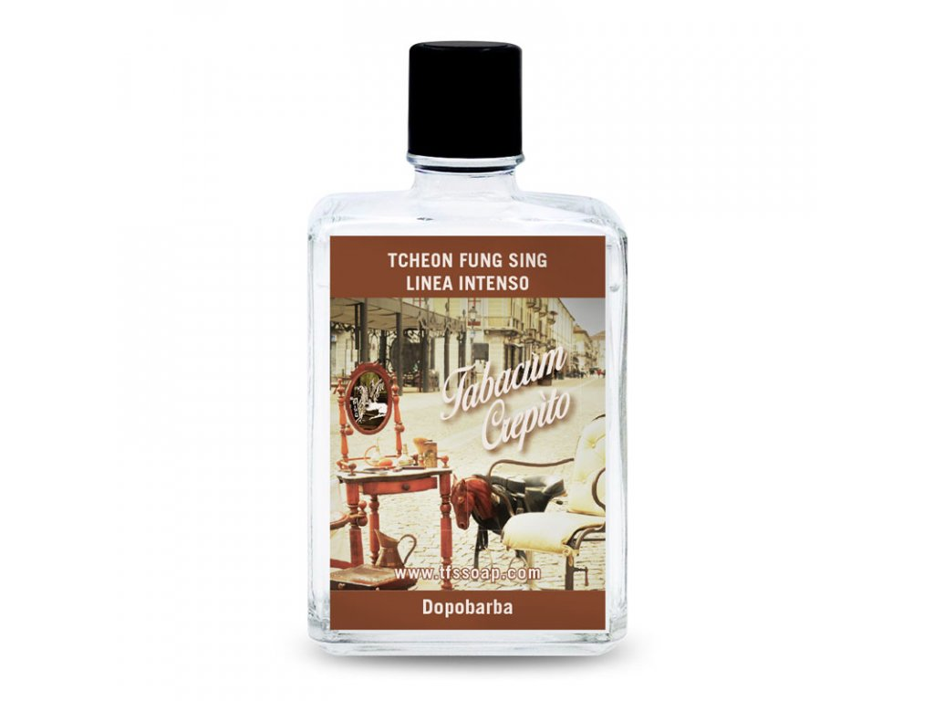 Tcheon Fung Sing Linea Intenso Aftershave - Tabacum Crepito