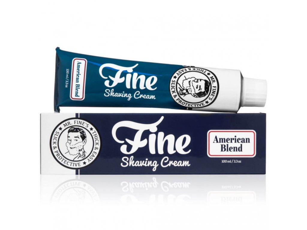 Fine American Blend krém na holení