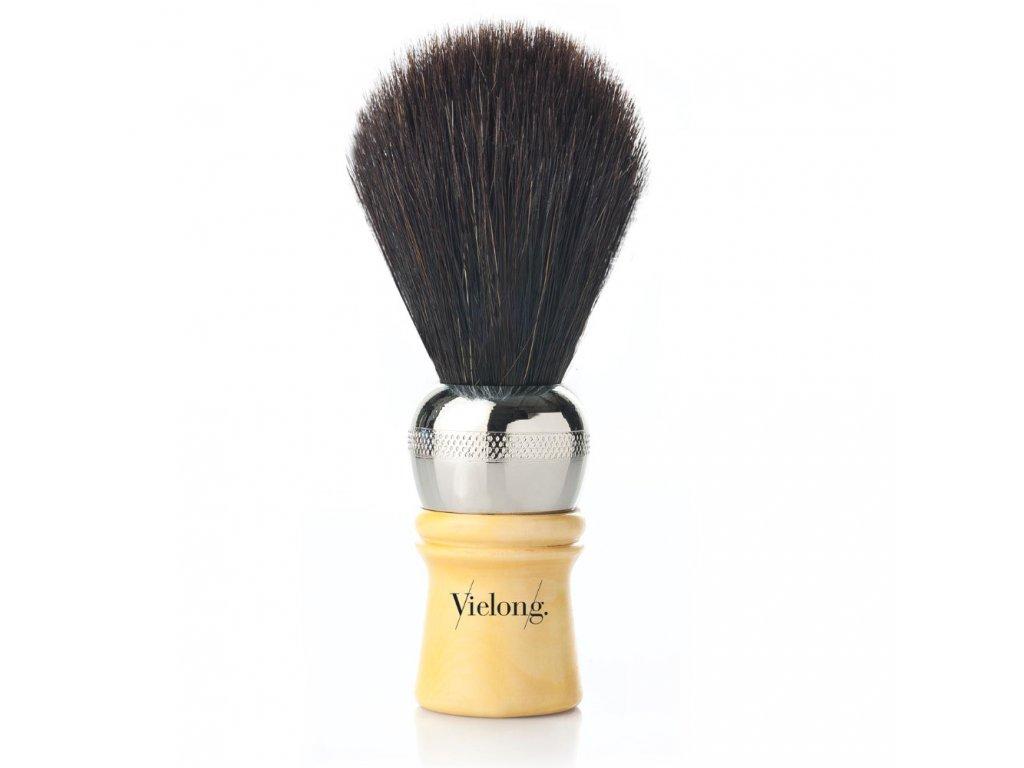 Vielong Professional Española štětka na holení z koňských žíní - černá