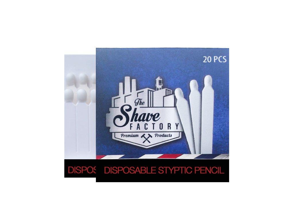 Shave Factory styptické kamencové sirky