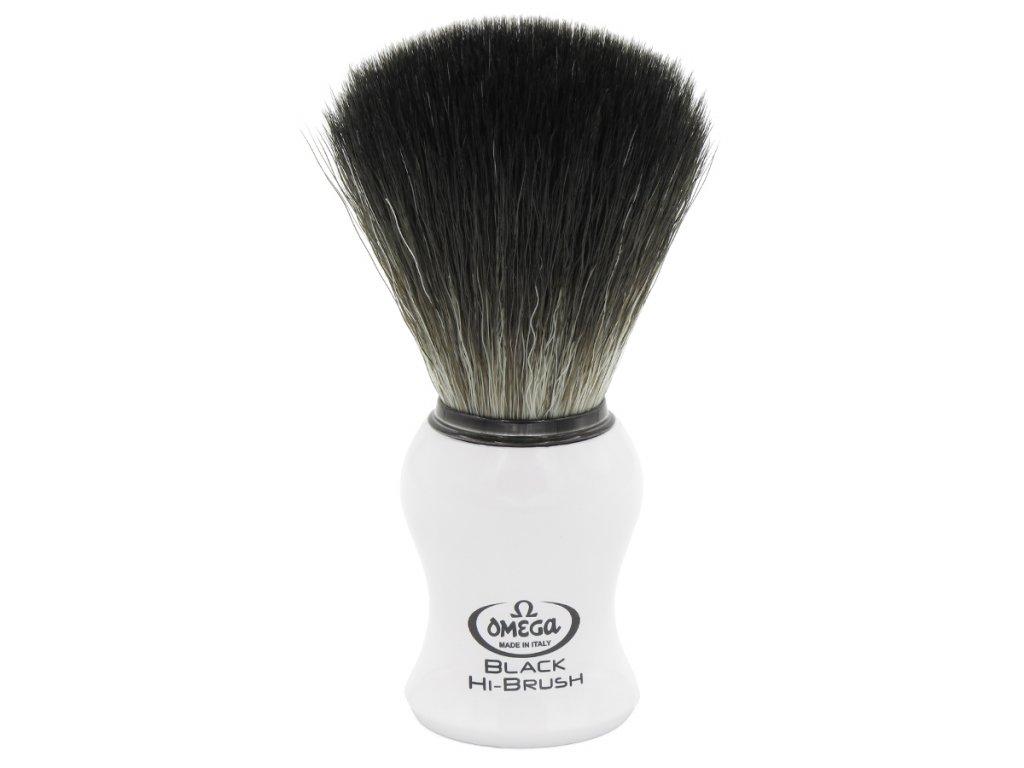Omega Hi-Brush 0196745 - štětka na holení ze syntetických vláken