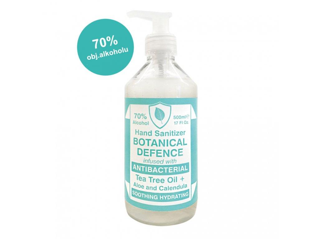 Saponificio Varesino Botanical Defence dezinfekční gel na ruce 500ml