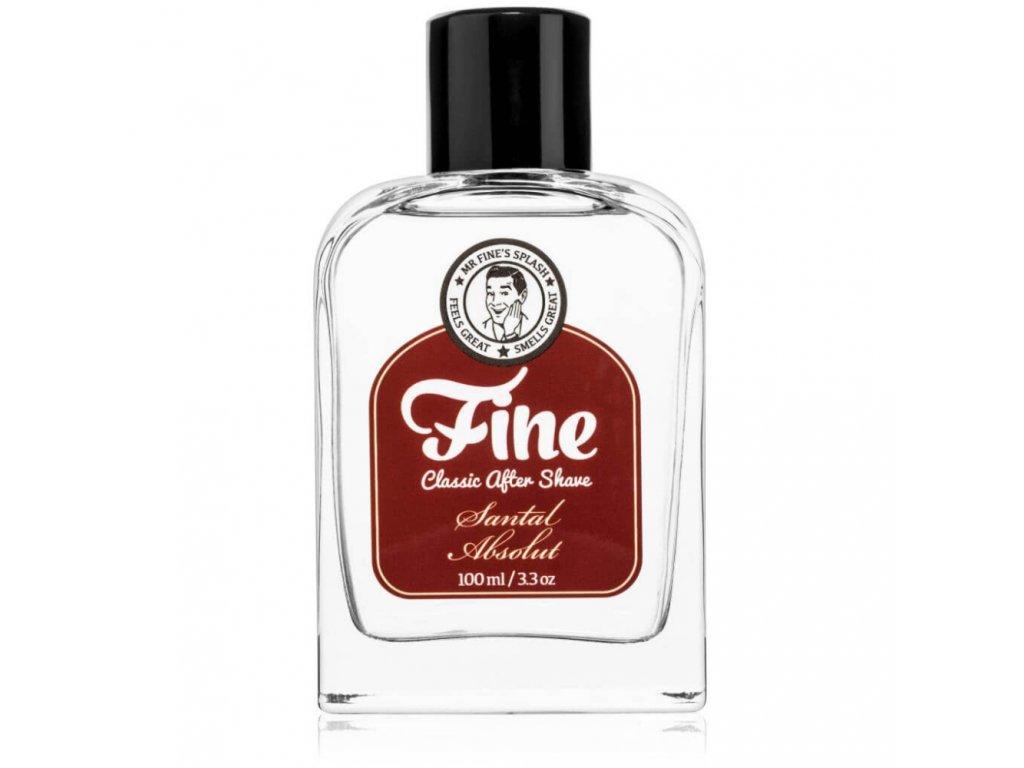 Fine Santal Absolut Classic After Shave - voda po holení
