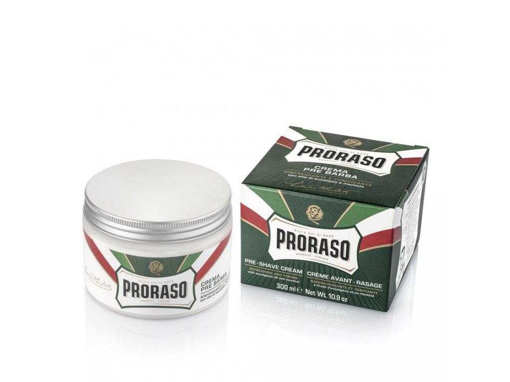 Proraso Pre Shave Cream PROFESSIONAL Green-cz.nomorebeard.com