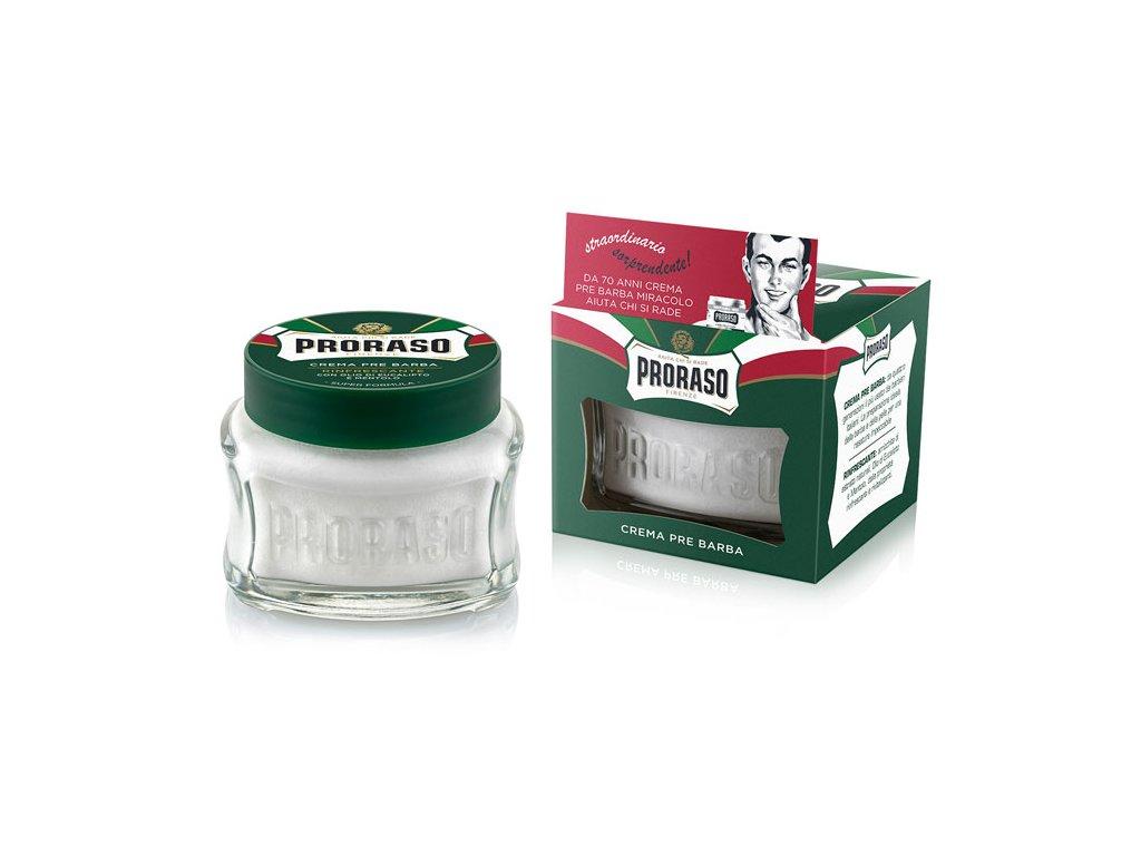 Proraso Pre-Shave Cream Eucalyptus - krém před i po holení