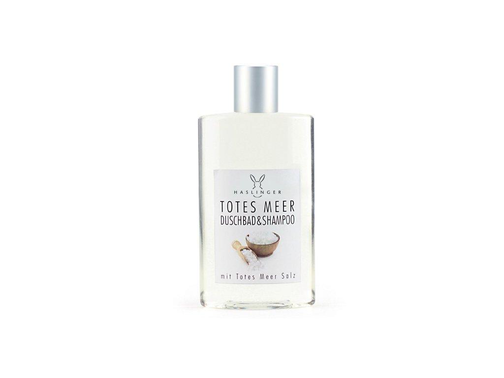 Haslinger Totes Meer sprchový gel a šampon se solí z Mrtvého moře