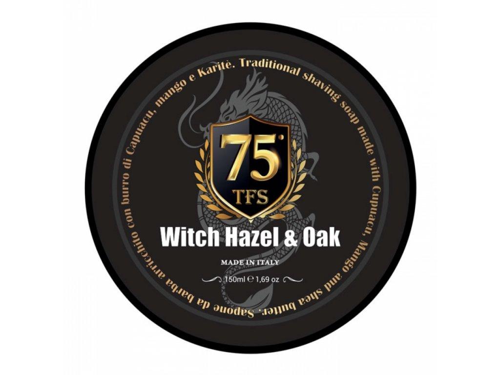 TFS 75th Anniversary Witch Hazel & Oak mýdlo na holení