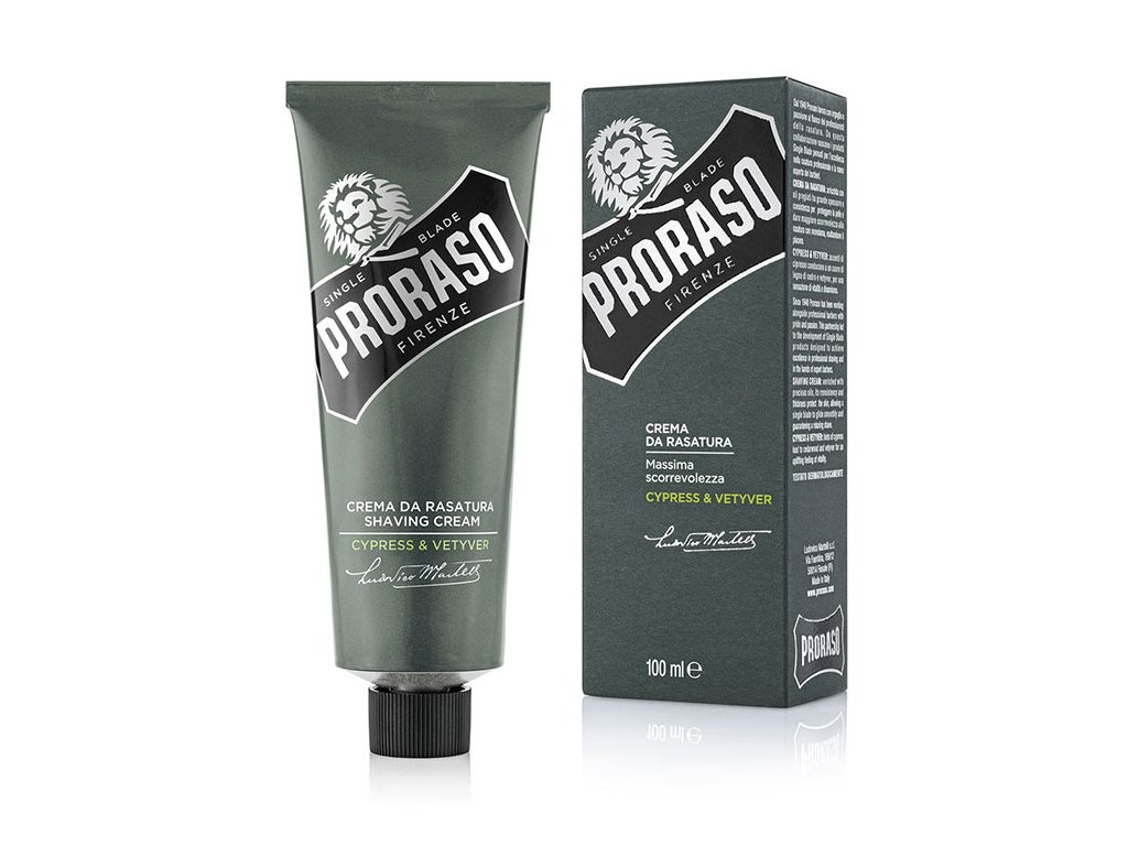 Proraso Shaving Cream Cypress & Vetiver - krém na holení