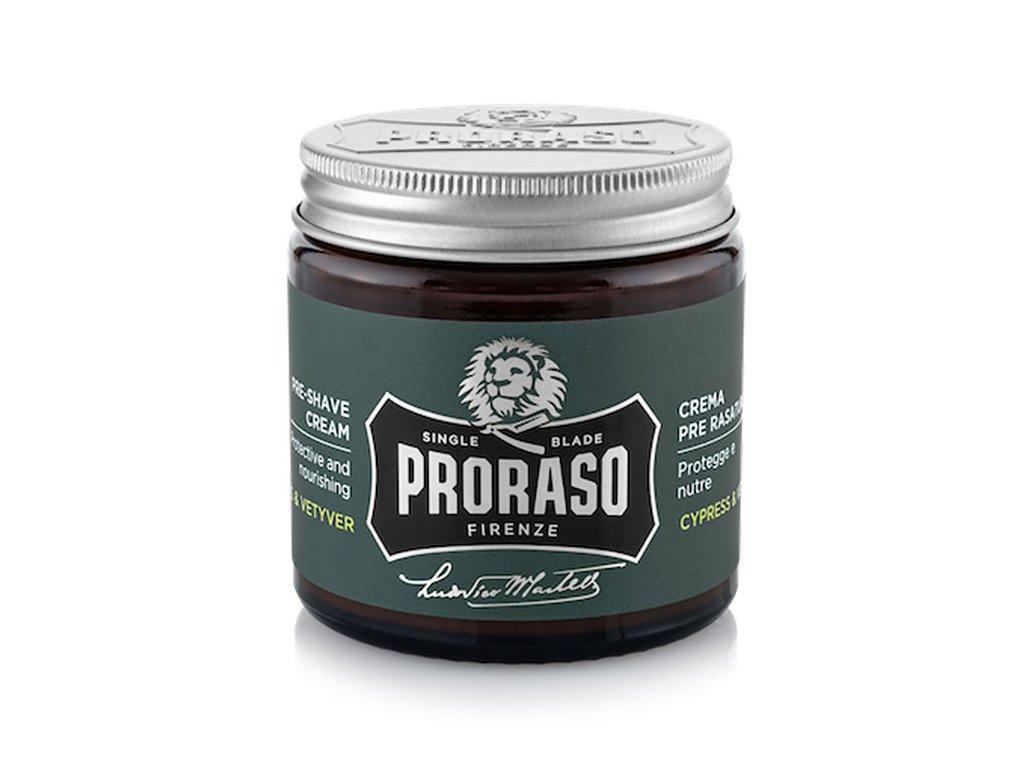 Proraso Pre-Shave Cream Cypress & Vetyver - krém před i po holení
