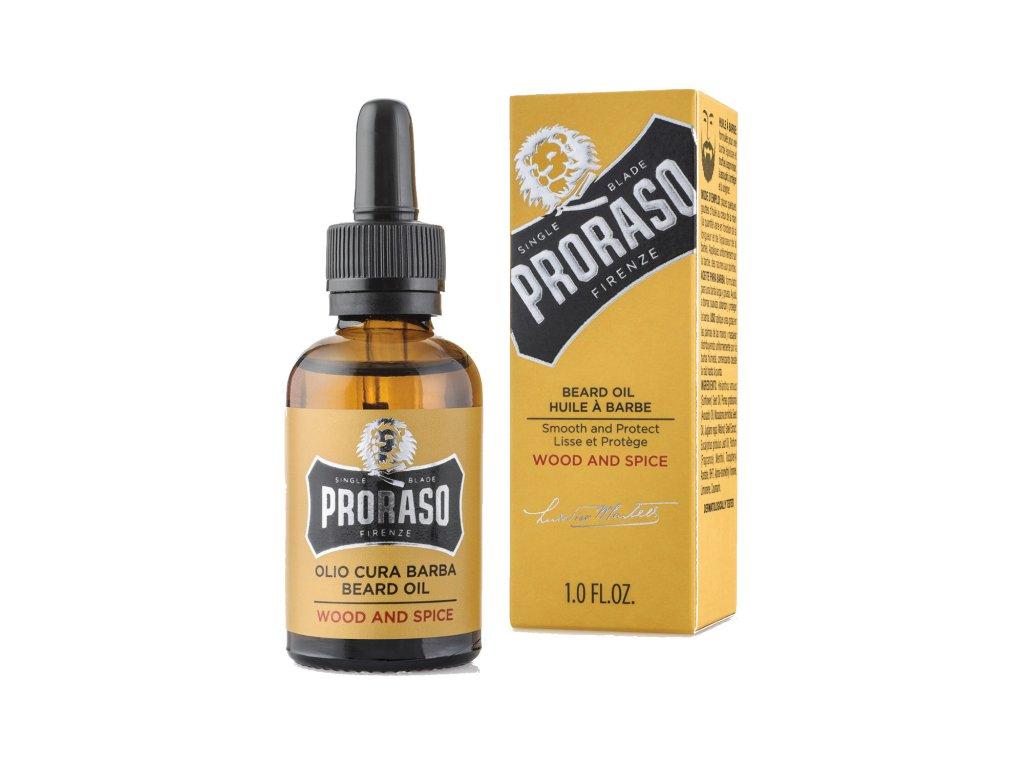 Proraso Beard oil Wood&Spice-cz.nomorebeard.com