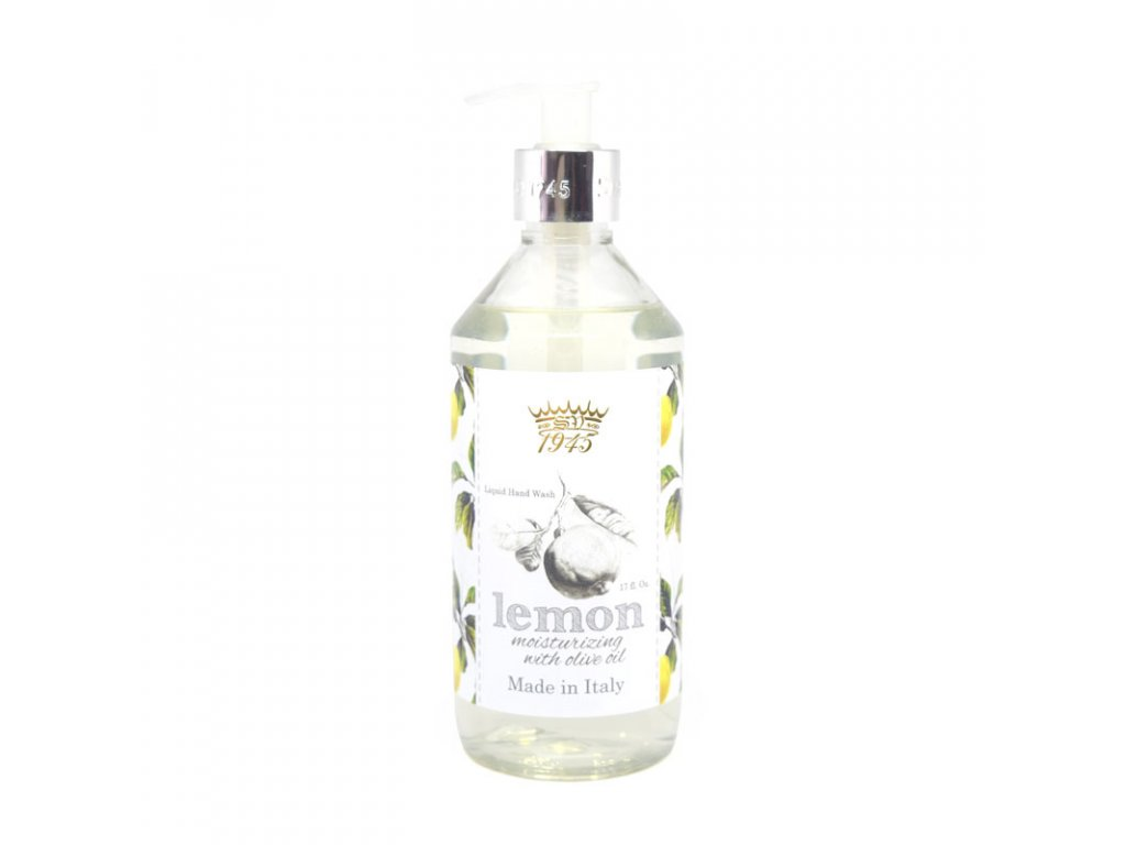 Saponificio Varesino Lemon and Olive Oil tekuté mýdlo