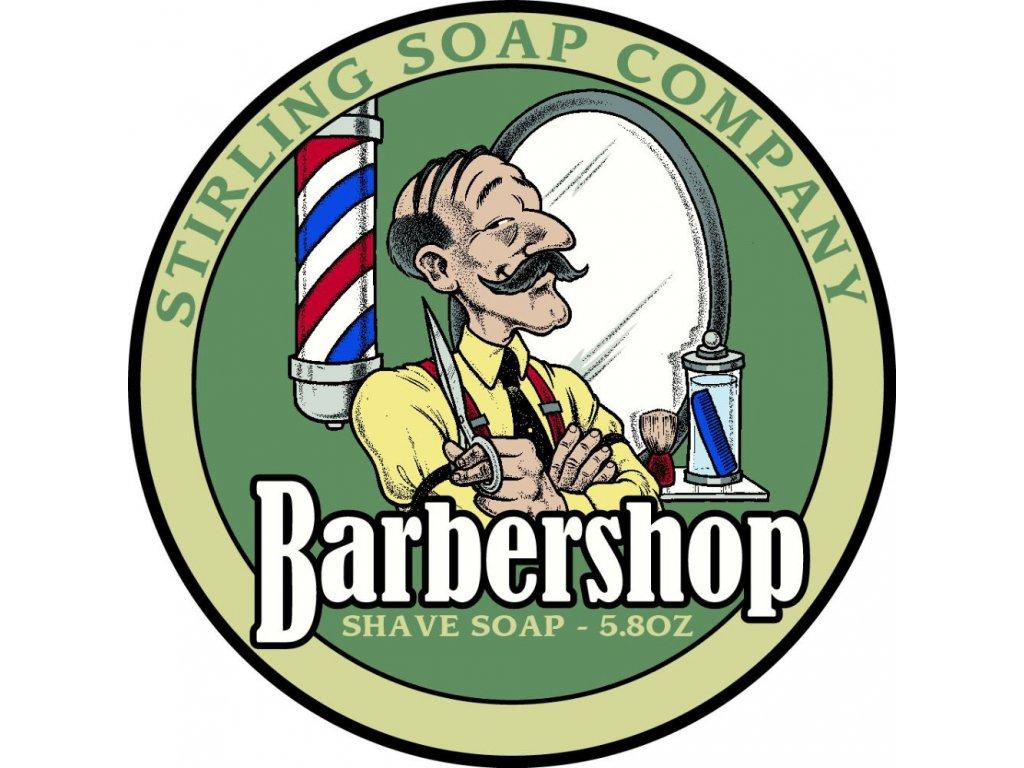 Stirling Barbershop mýdlo na holení