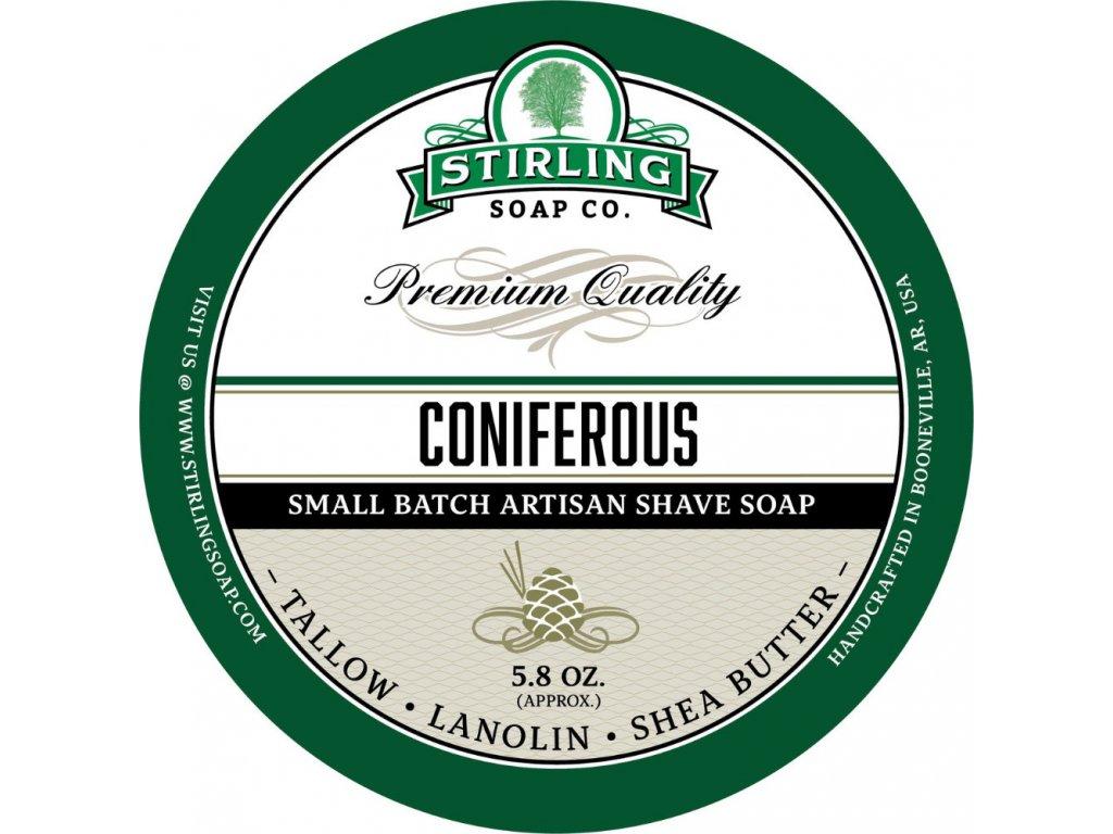 Stirling Coniferous mýdlo na holení