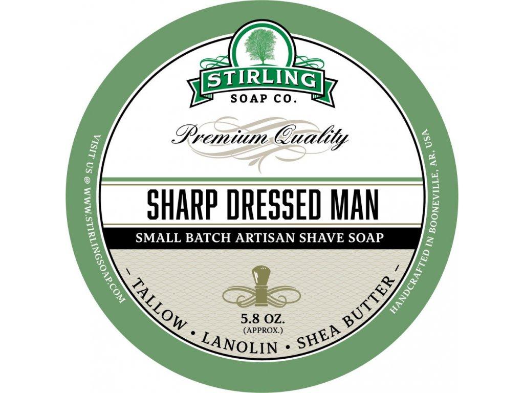 mýdlo na holení Stirling Sharp Dressed Man