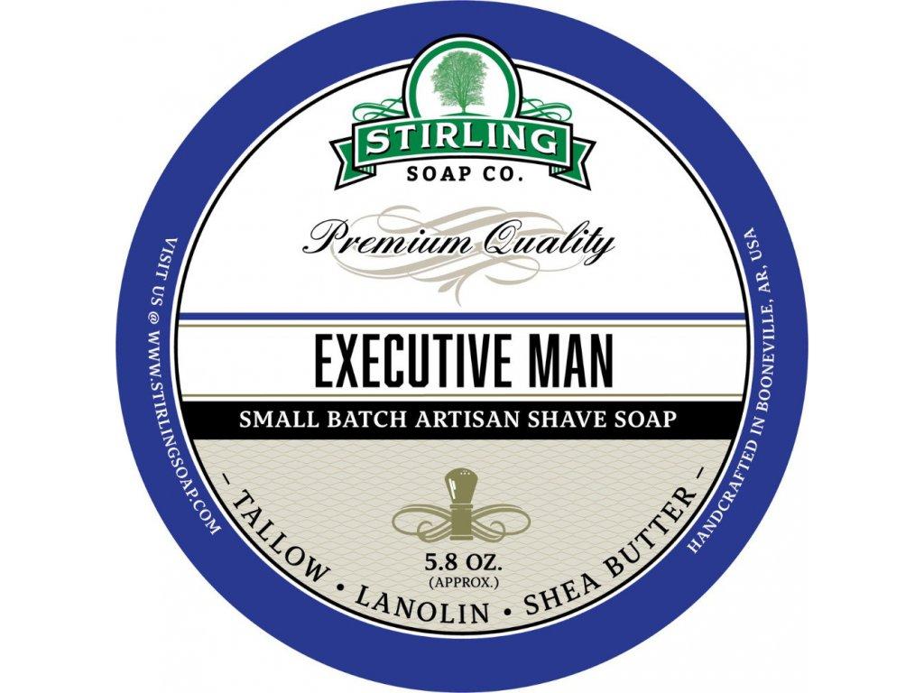 Stirling Executive Man mýdlo na holení