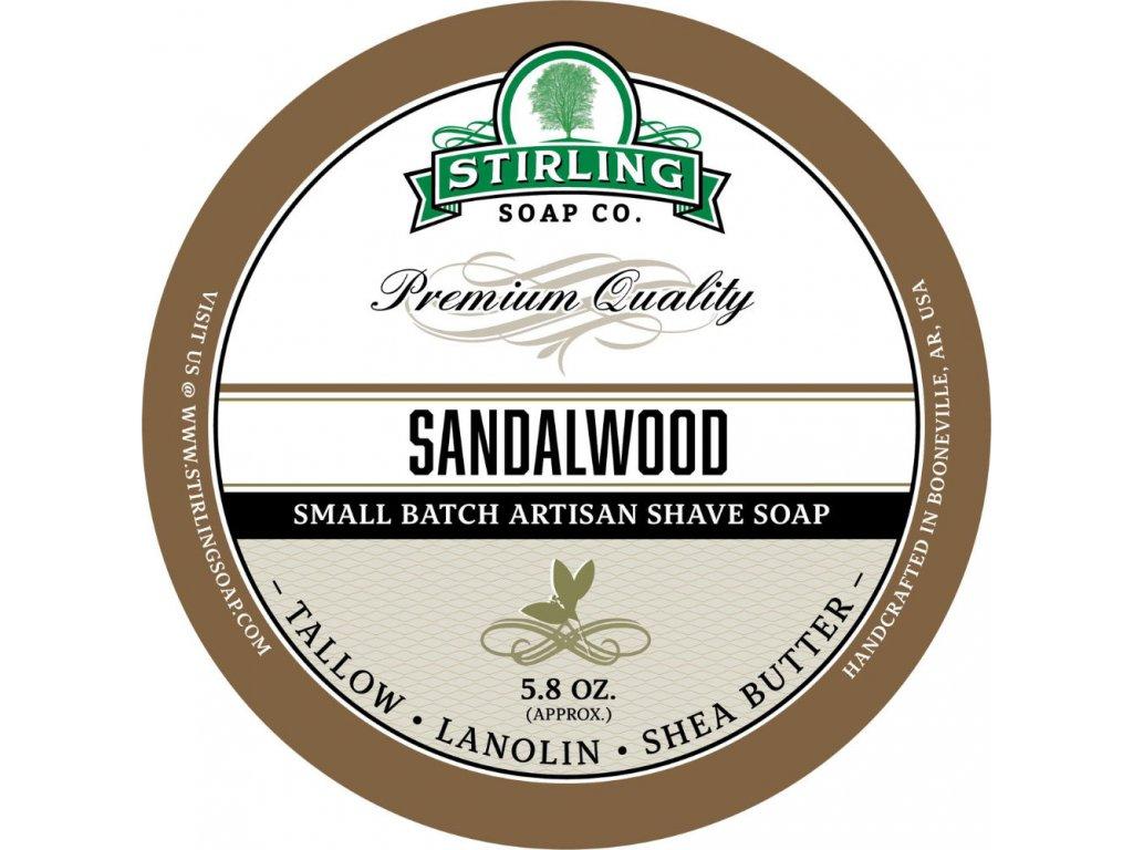 Stirling Sandalwood mýdlo na holení
