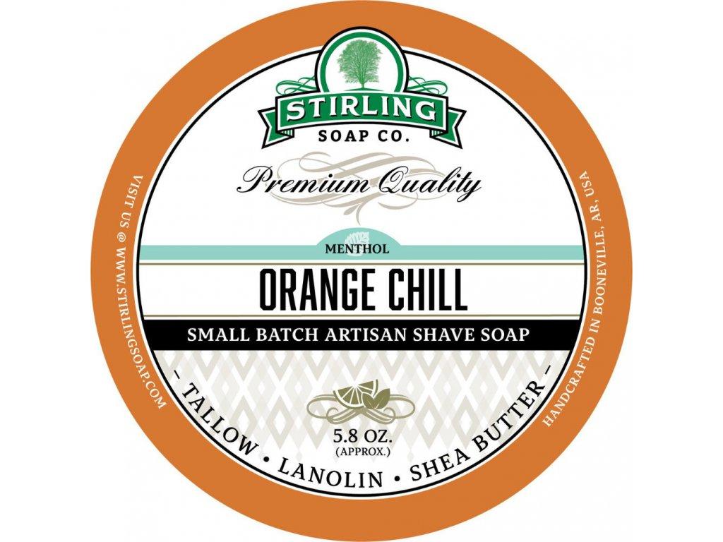 Stirling Orange Chill mýdlo na holení