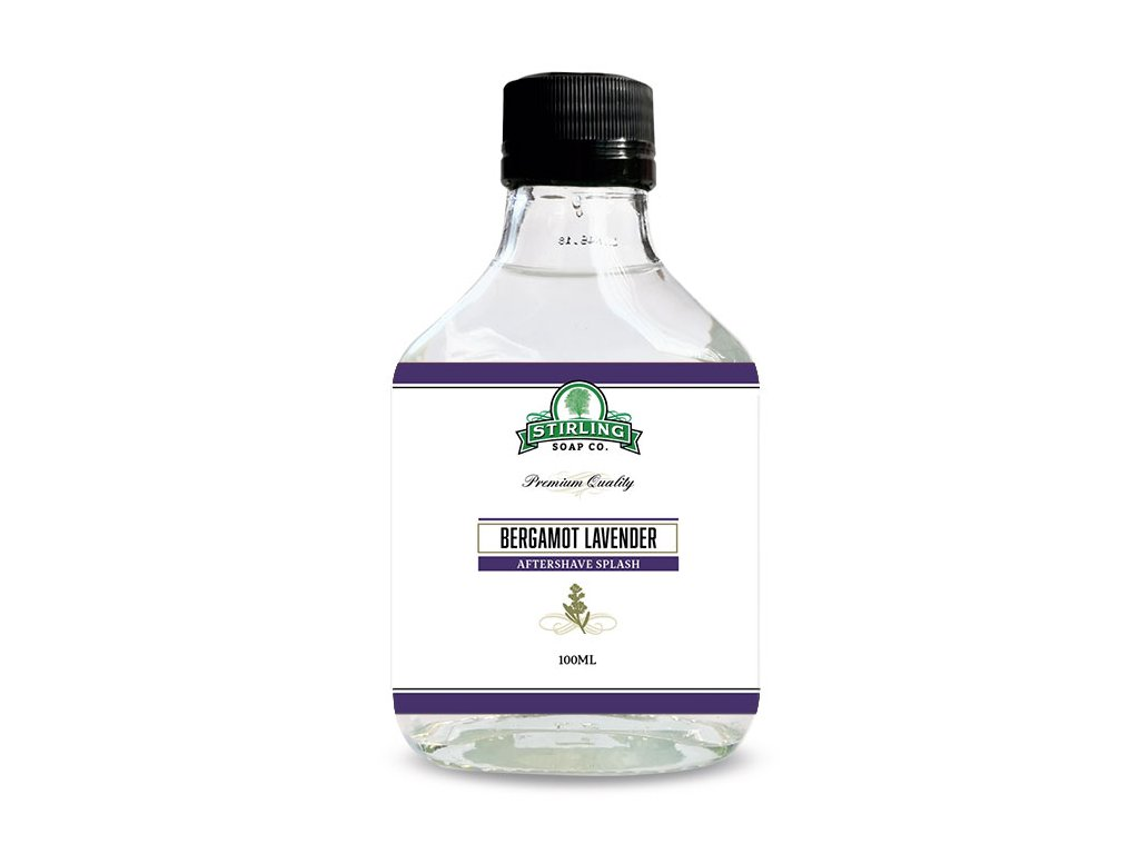 levandlová voda po holení Stirling Bergamot Lavender