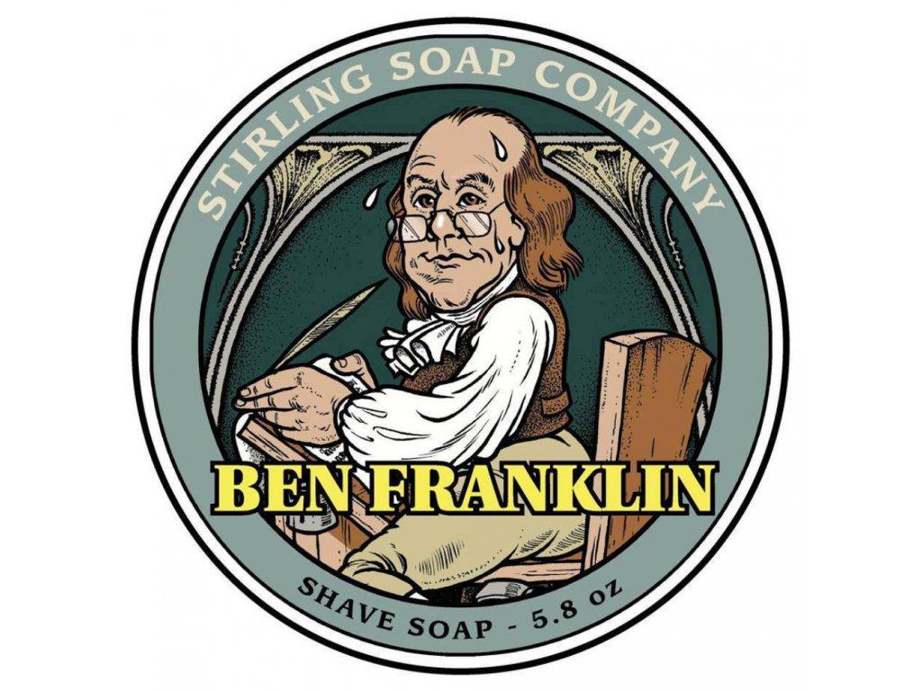 Stirling Ben Franklin mýdlo na holení