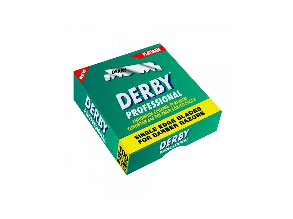 Derby Professional Single Edge žiletky