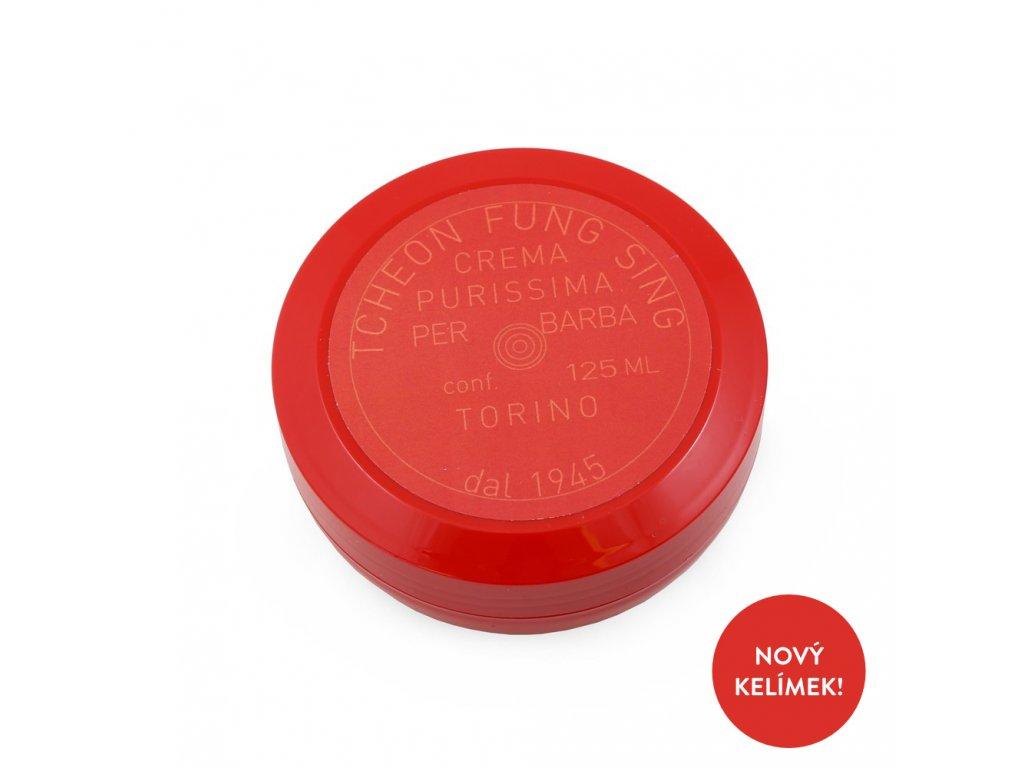 Tcheon Fung Sing Ciotola Rossa mýdlo na holení v červeném kelímku