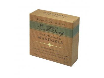 Saponificio Varesino Scrub toaletní mýdlo - Mandle