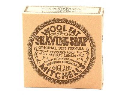 Mitchell's Wool Fat mýdlo na holení-cz.nomorebeard.com