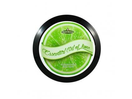 RazoRock Essential Oil of Lime mýdlo na holení
