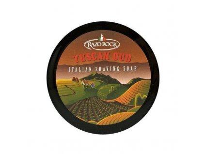 RazoRock Tuscan Oud mýdlo na holení