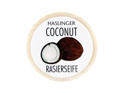 Haslinger kokosové mýdlo na holení